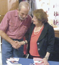 Raff Ellis (pictured with Helen Thomas)